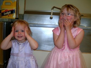 Jessie and Sarah Siblings down syndrome