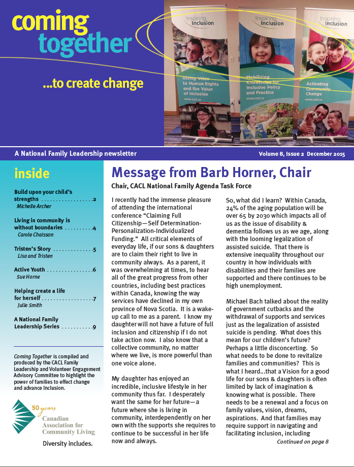 Coming Together Newsletter